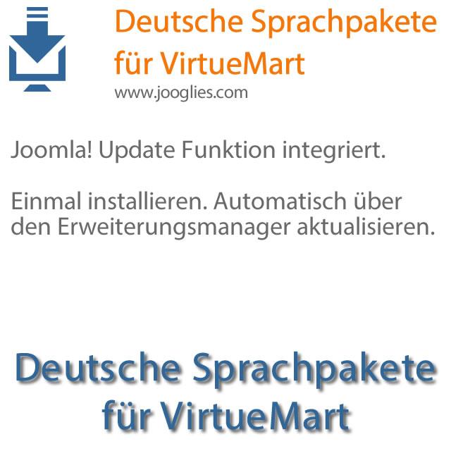 Deutsche Sprachpakete für Virtuemart