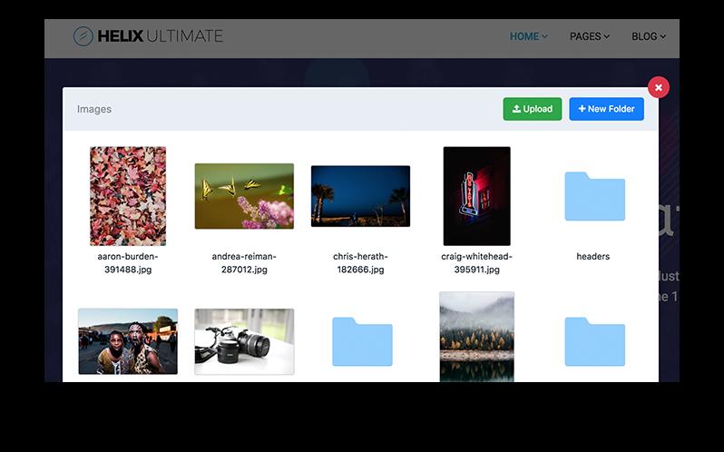 Helix Ultimate - Funktionaler Media Manager
