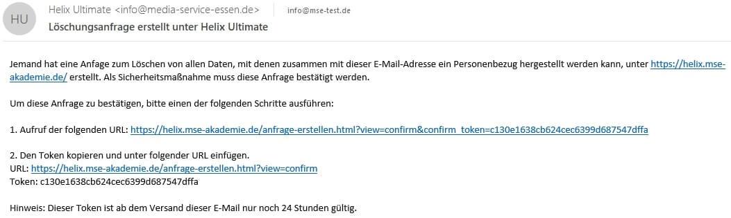 Joomla DSGVO - Ratgeber und Anleitung. Email mit Double-Opt-In