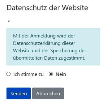 Joomla DSGVO - Ratgeber und Anleitung. Datenschutz Zustimmung im Frontend.