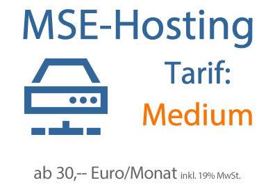 Hosting-Tarif Medium