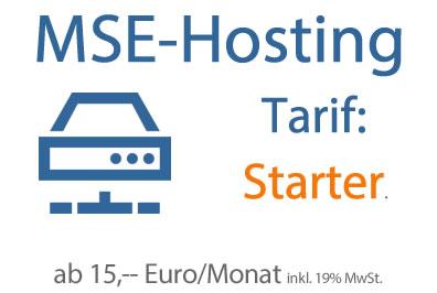 Hosting-Tarif Starter