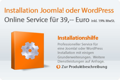 Installation Joomla - Wordpress
