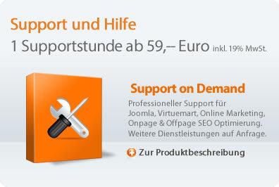 Support und Hilfe