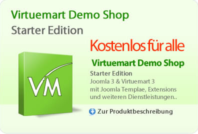 Virtuemart Demo Shop - Starter Edition